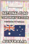 Australia Country Flag Tattoos.